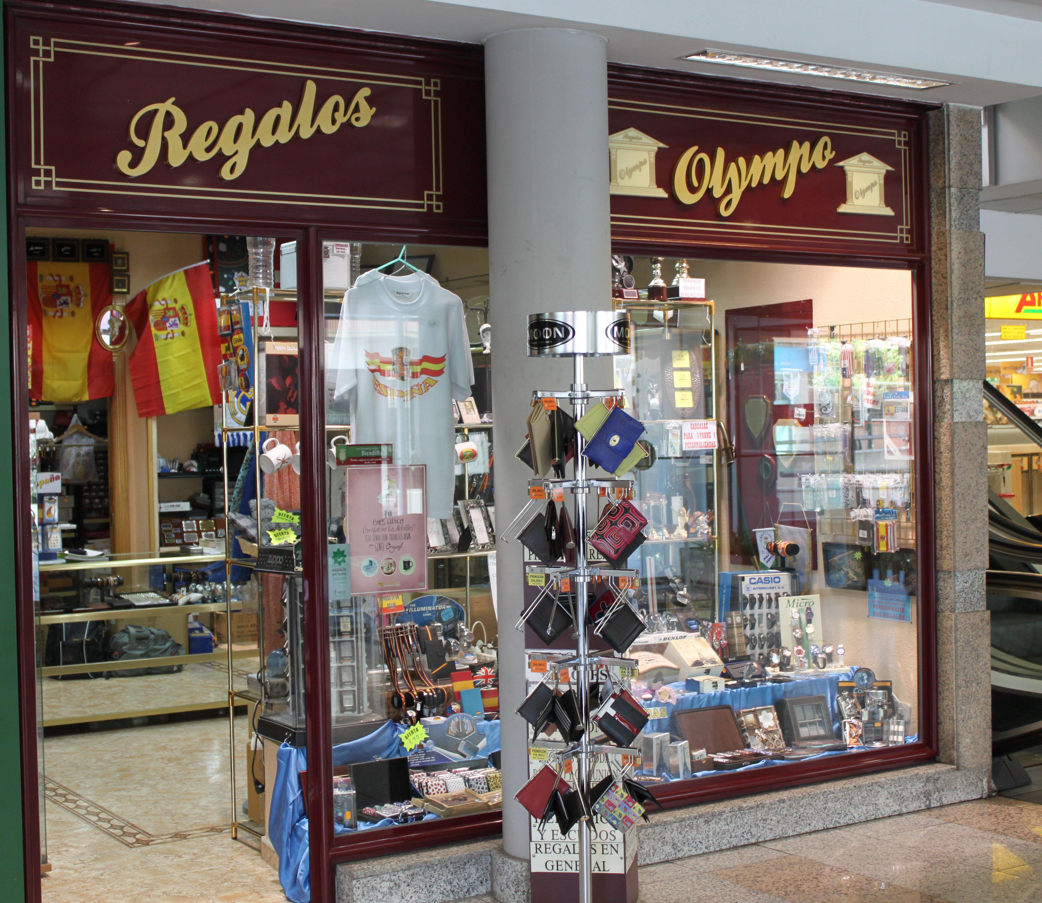 Tienda Regalos Olympo